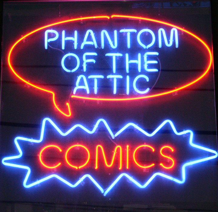 Phantom Of The Attic Comic Book Store Interview Pop