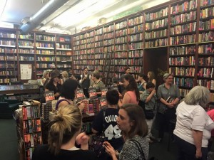 Mysterious bookshop event