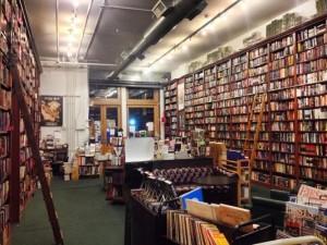Mysterious bookshop size