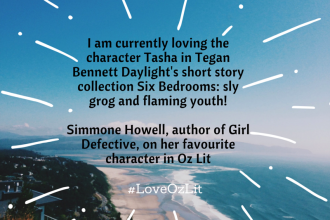 Simmone Howell writing tips