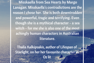 Thalia Kalkipsakis writing tips