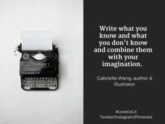 Gabrielle Wang writing tips