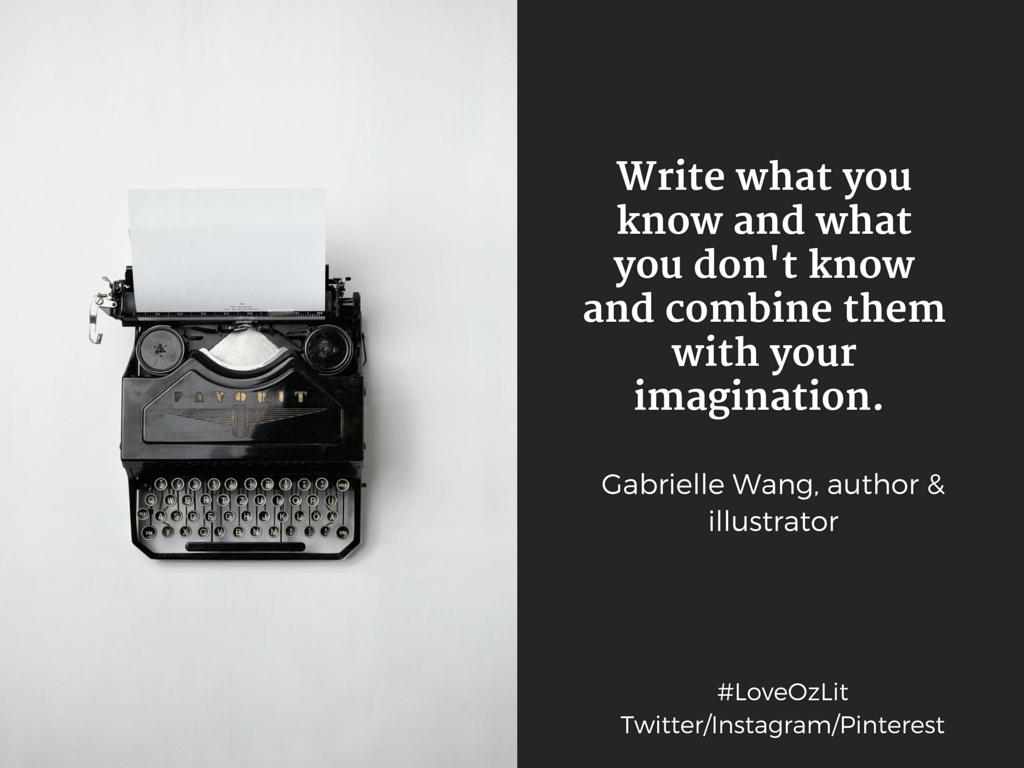 Gabrielle Wang writing tips