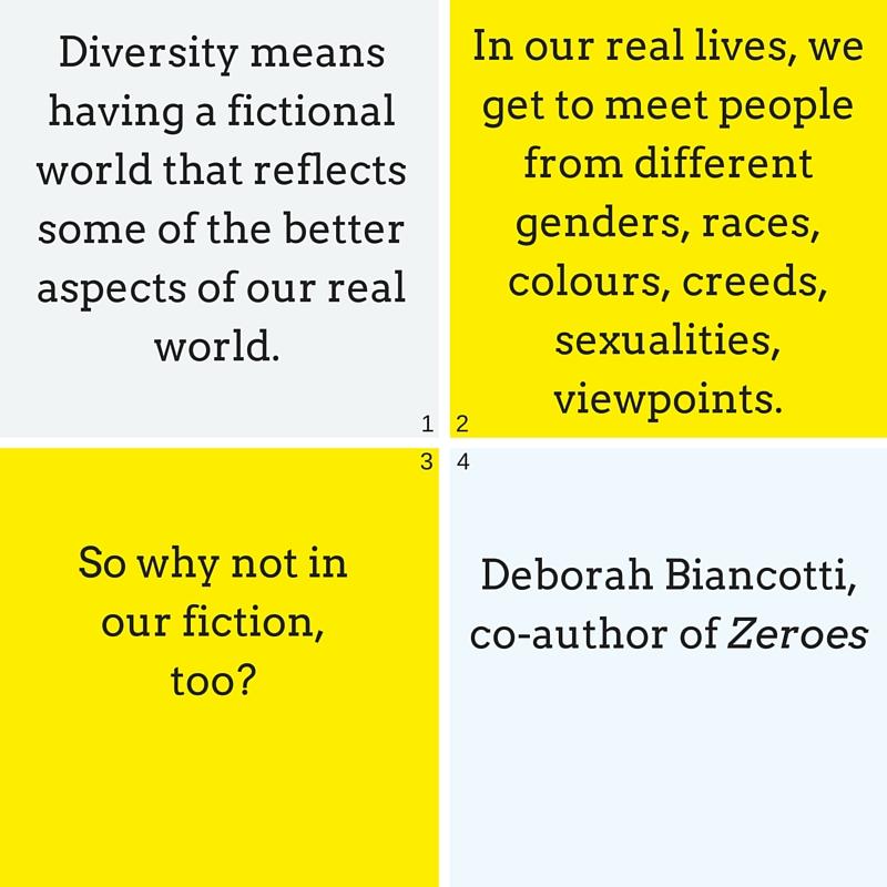 Deborah Biancotti author quote