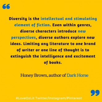 Honey Brown author quote