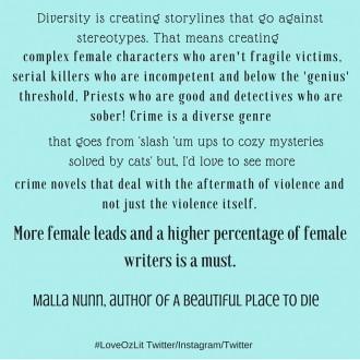 Malla Nunn on diversity in fiction