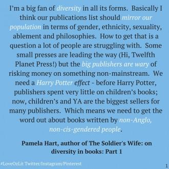 Pamela Hart author quote