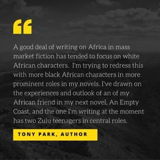 Tony Park quote diversity