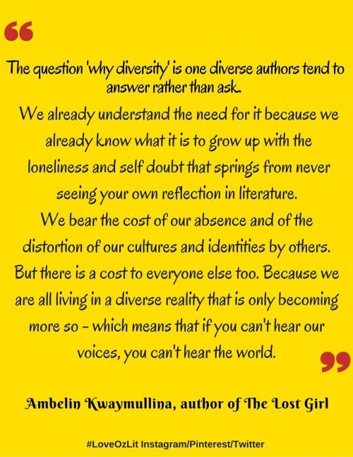 Ambelin Kwaymullina on diversity