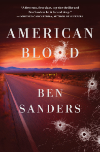 Ben Sanders, author of American Blood