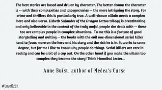 Anne Buist, author of Medea's Curse