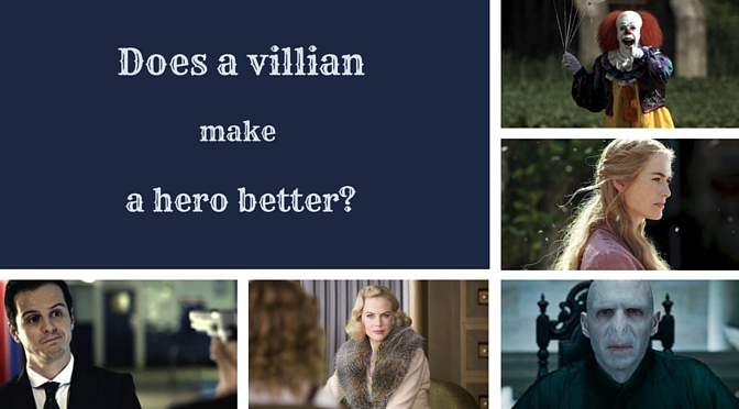 Villians and heroes; author quotes