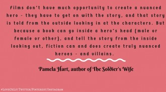 Pamela Hart, author of The Soldier's Wife