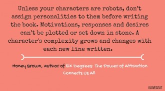 Honey Brown, Australian author, on how NOT to write robotic characters