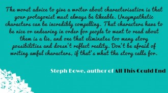 Australian author Steph Bowe on unlikeable characters