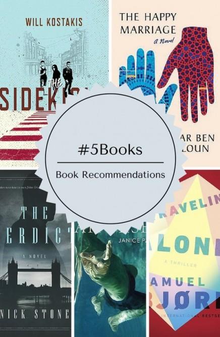 5 Books recs from Pop. Edit. Lit