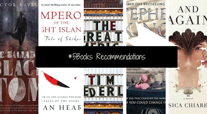5books recommendations for the week ending 70215
