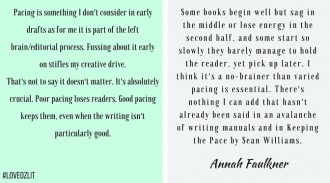 #LoveOzLit: Annah Faulkner on pacing