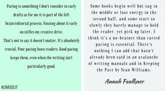 #LoveOzLit: Annah Faulkner on pacing