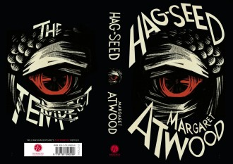Beautiful book cover: Hag-Seed by Margaret Atwood