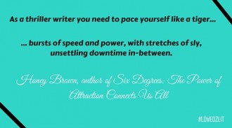 Honey Brown on how to approach pacing in your writing