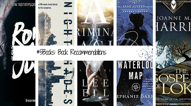 5Books: book recommendations for the week ending 130215