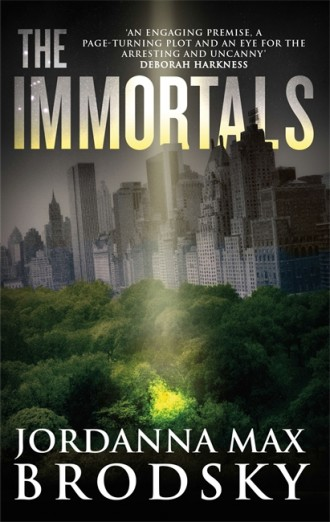 Book review: The Immortals by Jordanna Max Brodsky