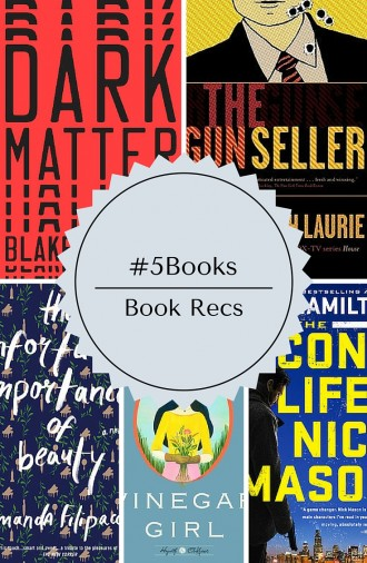 #5Books: Book recs you need to see!