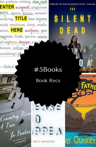 #5Books you need to read: Book recs