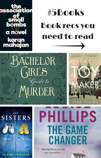 #5Books: Book recs you should read