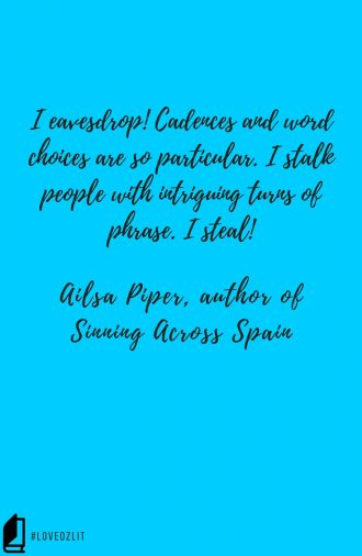 LoveOzLit: Ailsa Piper on dialogue