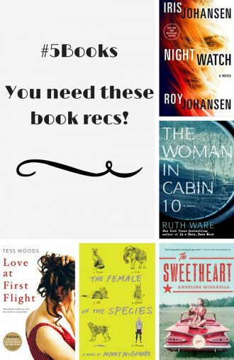 #5Books Book recs you need
