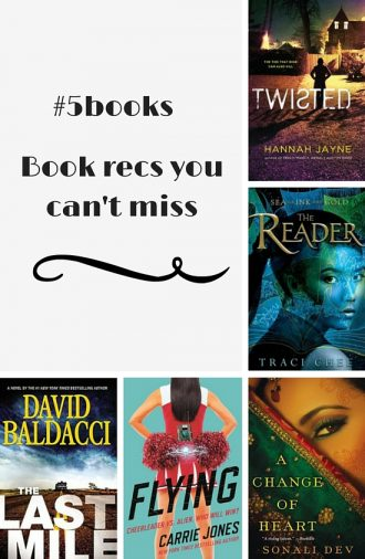 #5books: book recs you can't miss!