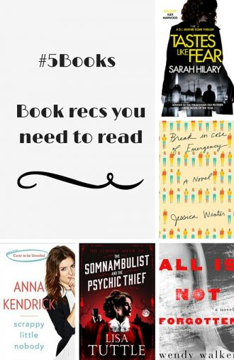 #5books Book recs you need to read