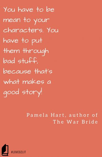 #LoveOzLit: Pamela Hart on being cruel
