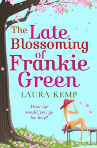 Book cover: The Late Blossoming of Frankie Green