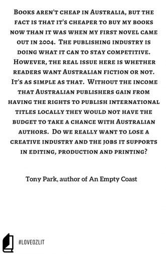#LoveOzLit: Tony Park on the Australian Publishing Industry#LoveOzLit: Tony Park on the Australian Publishing Industry