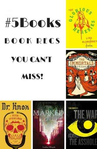 #5Books book recommendations