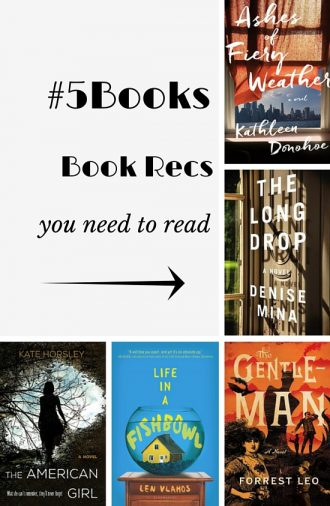 #5Books book recs
