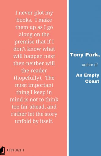 #LoveOzLit: Tony Park on plot development