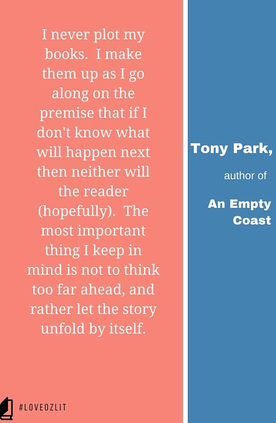 #LoveOzLit: Tony Park on plot development