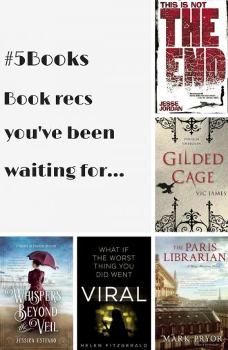#5Books book recs for the week ending 280816