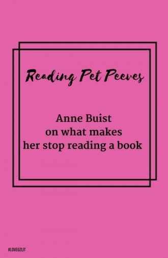 Anne Buist on what makes her stop reading a book