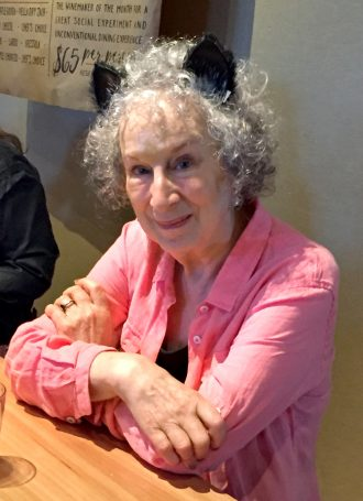 Margaret Atwood is now a comics author