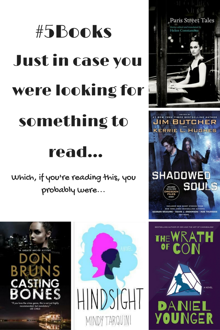 #5Books book recs for the week ending 91016
