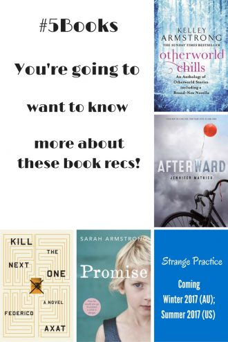 Book recs for the week ending 21016