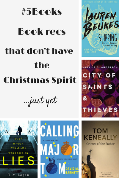 #5Books: book recs for the week ending 271116