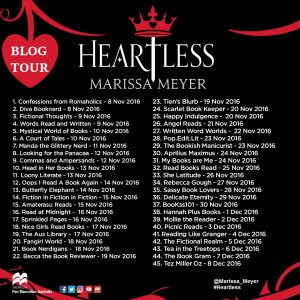 Heartless by Melissa Meyer Book Review and Blog Tour