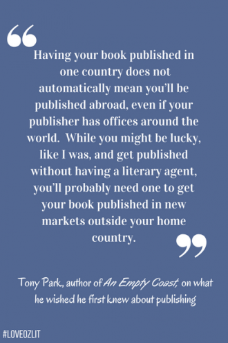 Tony Park on what he wished he first knew about publishing