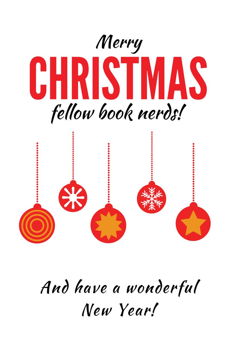Merry Christmas fellow book nerds 2016